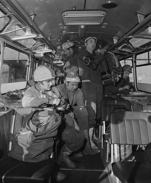 Báňští záchranáři.
