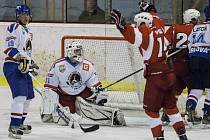 Orlovští hokejisté pokračují v úniku ze zóny sestupu.