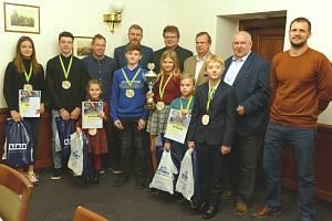 Ocenění úspěšných mladých tenistů