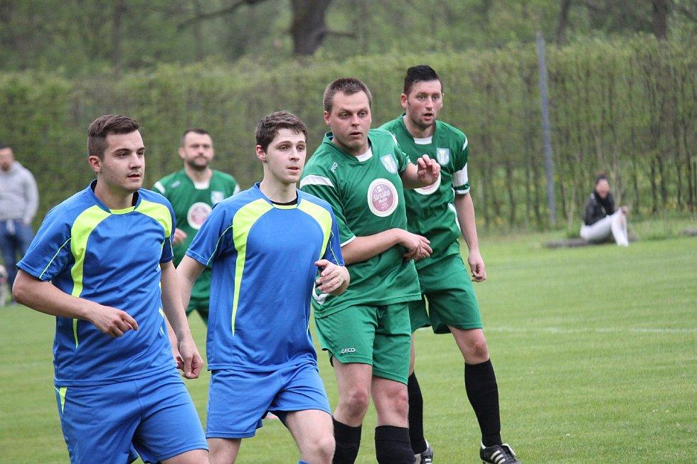 Horní Bludovice (v zeleném) přehrály na domácím hřišti Gascontrol Havířov 3:1.