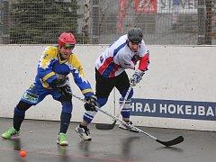Hokejbalisté hrají s Kovem a dalšími dvěma týmy o udržení v extralize.