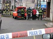 Provoz v železniční stanici v Bohumíně ochromil požár v Ústředním stavědle.