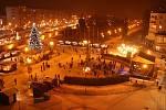 Vánoční městečko na náměstí Republiky v Havířově.