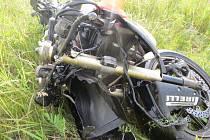 Tragická nehoda motorkáře v Bohumíně.