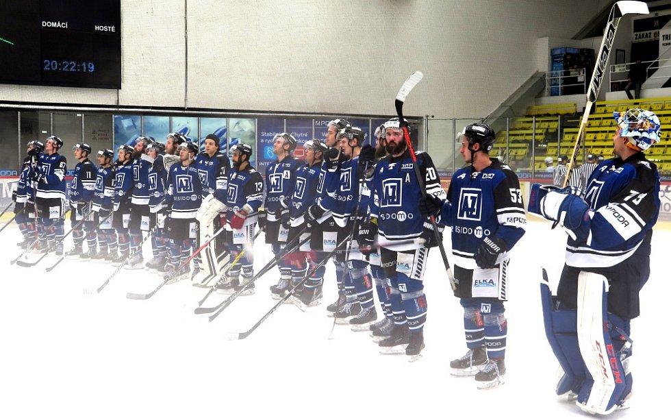 Havířov (v modrém) vynuloval Slavii.
