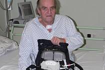 Pavel Fišer z Orlové žije díky zákroku třineckých kardiochirurgů.