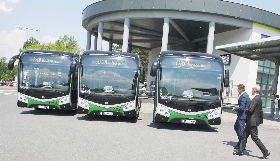 Ilustrační snímek. Na linkách havířovské MHD jezdí také elektrobusy.