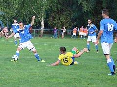 Havířovští fotbalisté prohráli s Kozlovicemi a jejich naděje na postup jsou minimální.