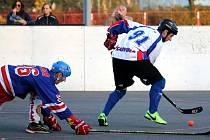 Hokejbalisté Karviné obsadili po základní části druhé místo.