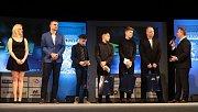 Předávání cen nejlepším sportovcům Karviné za rok 2017.
