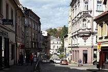 Centrum polského Cieszyna. Ilustrační foto.