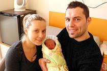 Matyášek Hanzel se narodil 12. ledna mamince Kateřině Gomolové z Karviné. Porodní váha chlapečka byla 3000 g a míra 48 cm.