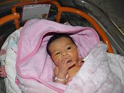Tiffany se narodila 3. února mamince Tereze Cererové z Karviné. Po narození holčička vážila 2650 g a měřila 45 cm.