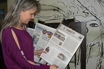 Tyto noviny najdete pouze v kavárně Avion.