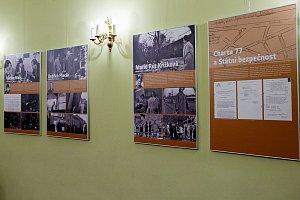 Výstava o historii Charty 77