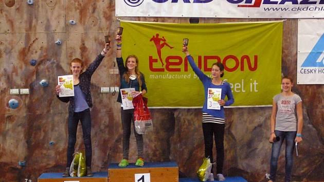 Eliška Adamovská vyhrála Český pohár - Tendon Cup.