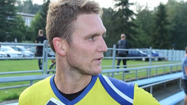 Milan Halaška srovnal v Dětmarovicích na 2:2 z poslední akce Bohumína.
