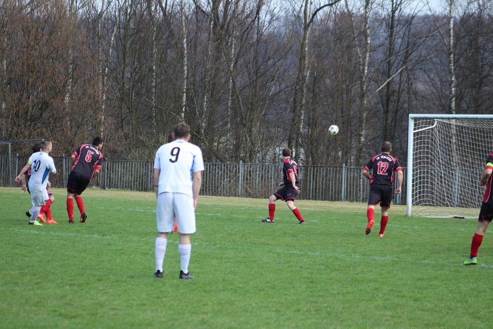 Slovan vede 1:0.