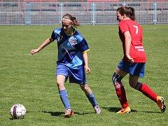 Fotbalistky Havířova na závěr podzimu prohrály v poháru.