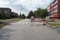 Oprava ulice Žižkova v Karviné-Hranicích - Ilustrační foto.