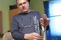 Najde se majitel zatoulaného hada?
