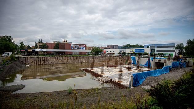 Stavba orlovského náměstí by měla letos pokračovat.