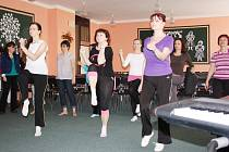 Učitelé se procvičovali ve správném cvičení.