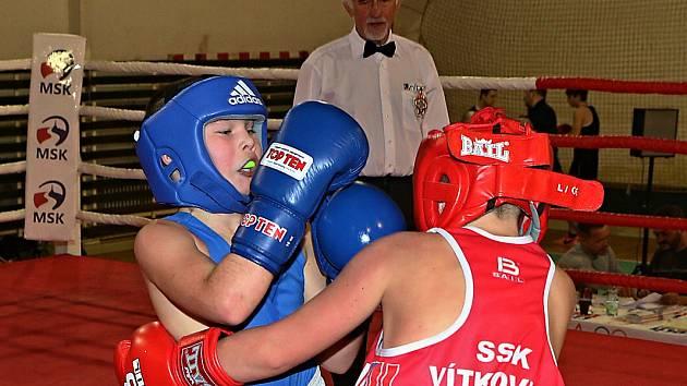 Mladí havířovští boxeři se v Ostravě neztratili.