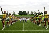 Slavnostní otevření rekonstruovaného fotbalového stadionu v Karviné.