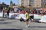 Havířovská desítka 2019. Vítězka běhu na 10 km Eva Filipová.