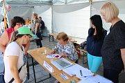 Veletrh poskytovatelů sociálních služeb v Havířově.