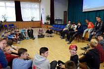 Projektový týden na SŠ Sýkorova v Havířově-Šumbarku se studenty kalifornské univerzity Concordia.