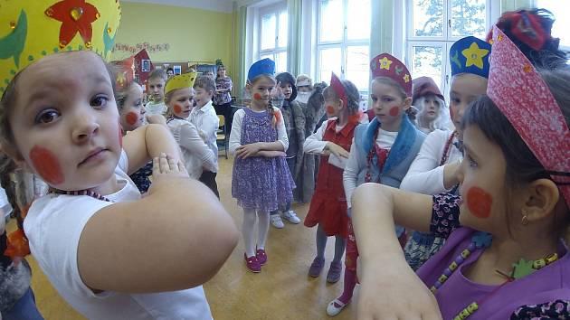 Ruský den v ZŠ Frýdecká v Havířově-Bludovicích.