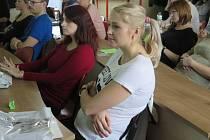 Předporodní workshop v havířovské porodnici.