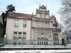 Fuldova vila v českotěšínských Masarykových sadech.