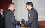 Zaměstnanci policie z celého bývalého okresu Karviná obdrželi ve středu ocenění a poděkování za svou práci.