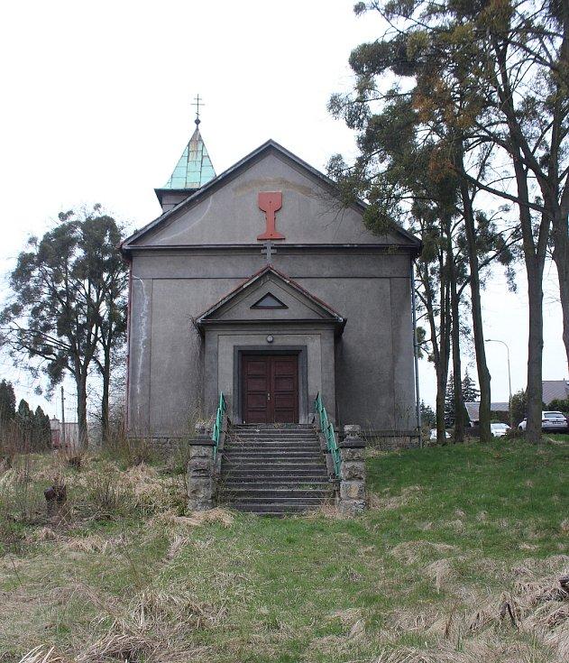 Petřvald. Kostel Husova sboru.