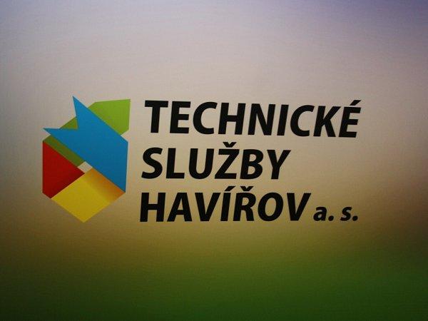 Logo Technických služeb Havířov.
