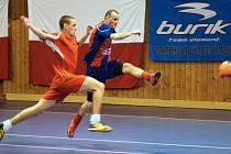 Futsalisté pokračují v rozehrané soutěži. První liga dospěla do play-off.