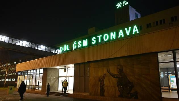 Důl ČSM ve Stonavě, kde 20. 12. 2018 došlo k výbuchu důlního plynu.