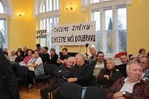 Volba starosty v Doubravě.