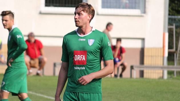 Jiří Marek - fotbalista Datyní a policista.