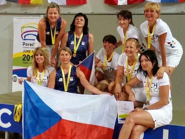 Havířovské hráčky reprezentovaly Českou republiku v kategorii nad 40 let a vybojovaly zlato!