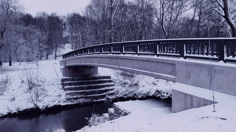 Zima v Havířově. Leden 2021.