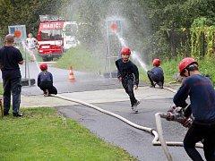 Mladí hasiči SDH Havířov město v akci.