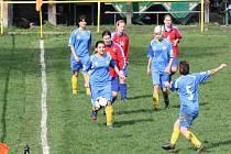 Fotbalistky odehrály další kolo divize.