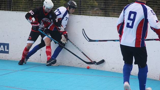 Hokejbalisté Karviné rozjeli extraligu výborně.