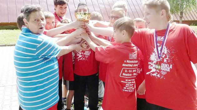 Mladší žáci Baníku Karviná se stali mistry republiky.