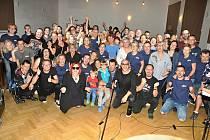 V Domě PZKO ve Fryštátě vystoupila na privátním koncertě polská kapela Lombard.