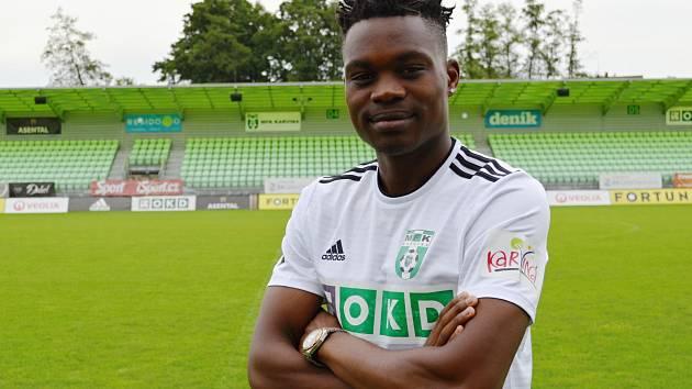 Gigli Ndefe - nová posila fotbalové Karviné.